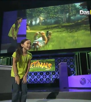 Kinectimals for Xbox 360 Gameplay Demo Video