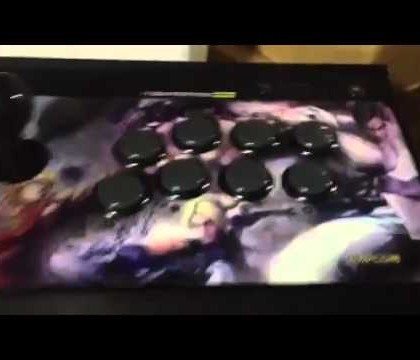 New Street Fighter X Tekken Arcade Sticks Review Now