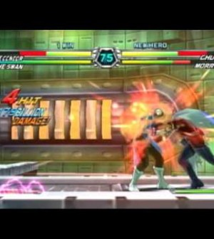 Tatsunoko vs. Capcom Gameplay Video Chun Li and Morrigan – New Game Videos